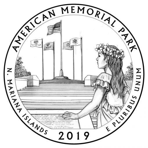 American Memorial Park Quarter and Coin Design
