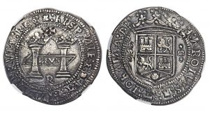 1538 8 Reales Silver Dollar May Realize $500,000+ in Heritage Aug. 17 Sale