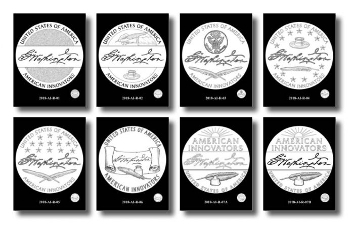 Design Candidates for 2018 American Innovation $1 Coin