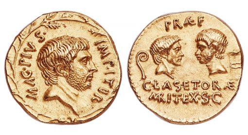 Fine Style Star Sextus Pompey Aureus