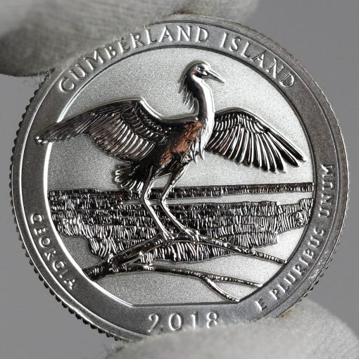 Photo of 2018-S Reverse Proof Cumberland Island National Seashore Quarter - Reverse