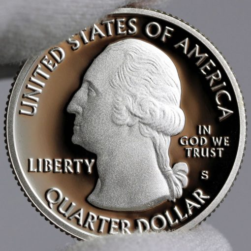 Photo of Clad 2018-S Proof Cumberland Island National Seashore Quarter - Obverse