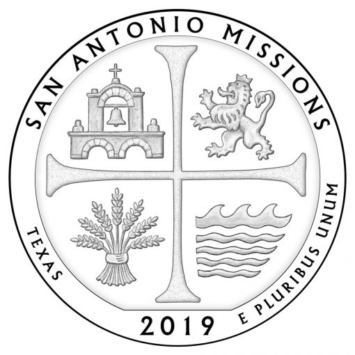 San Antonio Missions National Historical Park Quarter and Coin Design