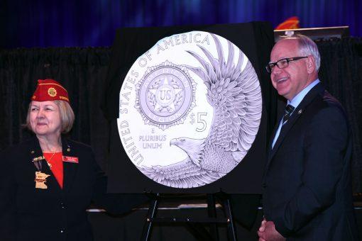 The American Legion 100th Anniversary Commemorative Coin Program designs are unveiled-29414415497