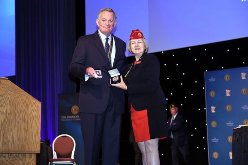 U.S. Mint Director and and American Legion National Commander