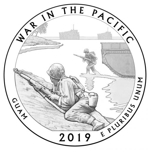 War in the Pacific National Historical Park Quarter and Coin Design