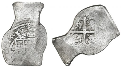 1715-dated Mexican cob 8 reales