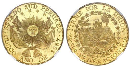 1837-dated 8 escudos