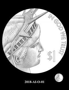 American Innovation $1 Coin Design Candidate 2018-AI-O-01