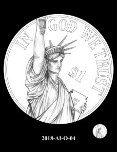 American Innovation $1 Coin Design Candidate 2018-AI-O-04