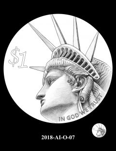 American Innovation $1 Coin Design Candidate 2018-AI-O-07