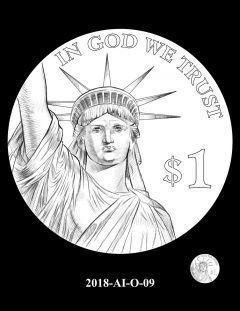 American Innovation $1 Coin Design Candidate 2018-AI-O-09