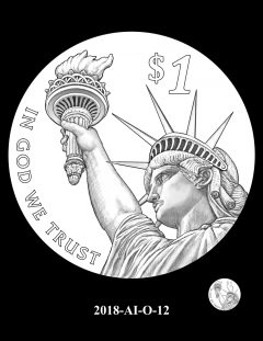 American Innovation $1 Coin Design Candidate 2018-AI-O-12