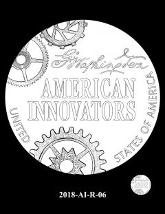 American Innovation $1 Coin Design Candidate 2018-AI-R-06