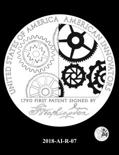 American Innovation $1 Coin Design Candidate 2018-AI-R-07
