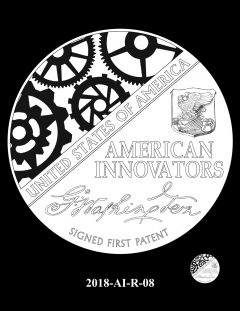 American Innovation $1 Coin Design Candidate 2018-AI-R-08