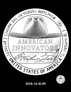 American Innovation $1 Coin Design Candidate 2018-AI-R-09