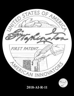 American Innovation $1 Coin Design Candidate 2018-AI-R-11