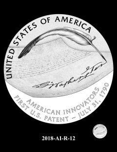 American Innovation $1 Coin Design Candidate 2018-AI-R-12