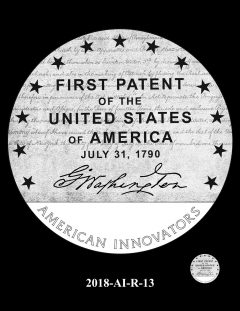 American Innovation $1 Coin Design Candidate 2018-AI-R-13