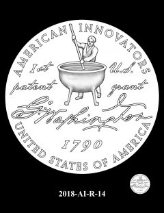 American Innovation $1 Coin Design Candidate 2018-AI-R-14