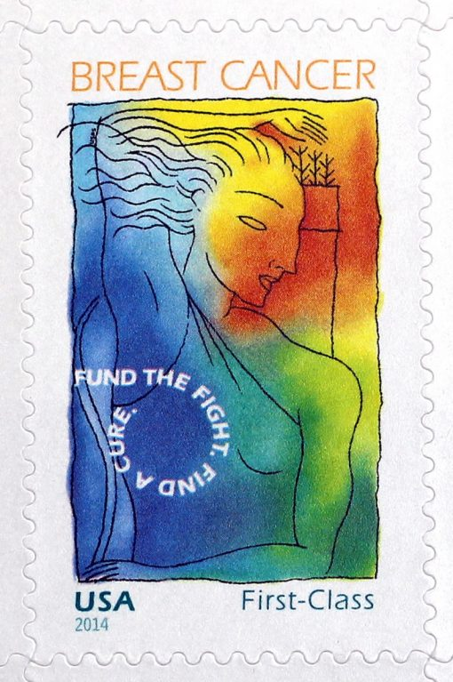 Breast Cancer Research Forever Stamp