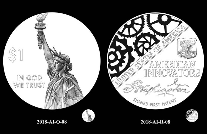 CCAC Recommended designs for the 2018 American Innovation $1 Coin