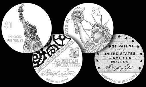 Recommended design candidates for the 2018 American Innovation $1 Coin