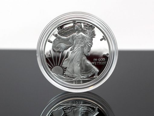 2018-S Proof American Silver Eagle,a