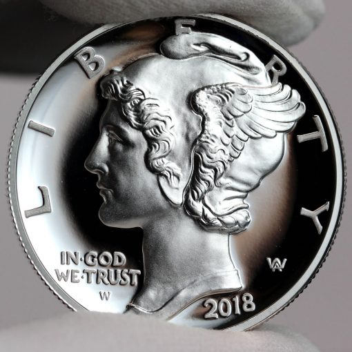 2018-W $25 Proof American Palladium Eagle - Obverse,a