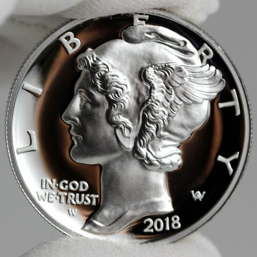 2018-W $25 Proof American Palladium Eagle - Obverse,b