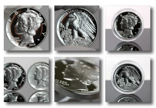 2018-W $25 Proof American Palladium Eagle Photos