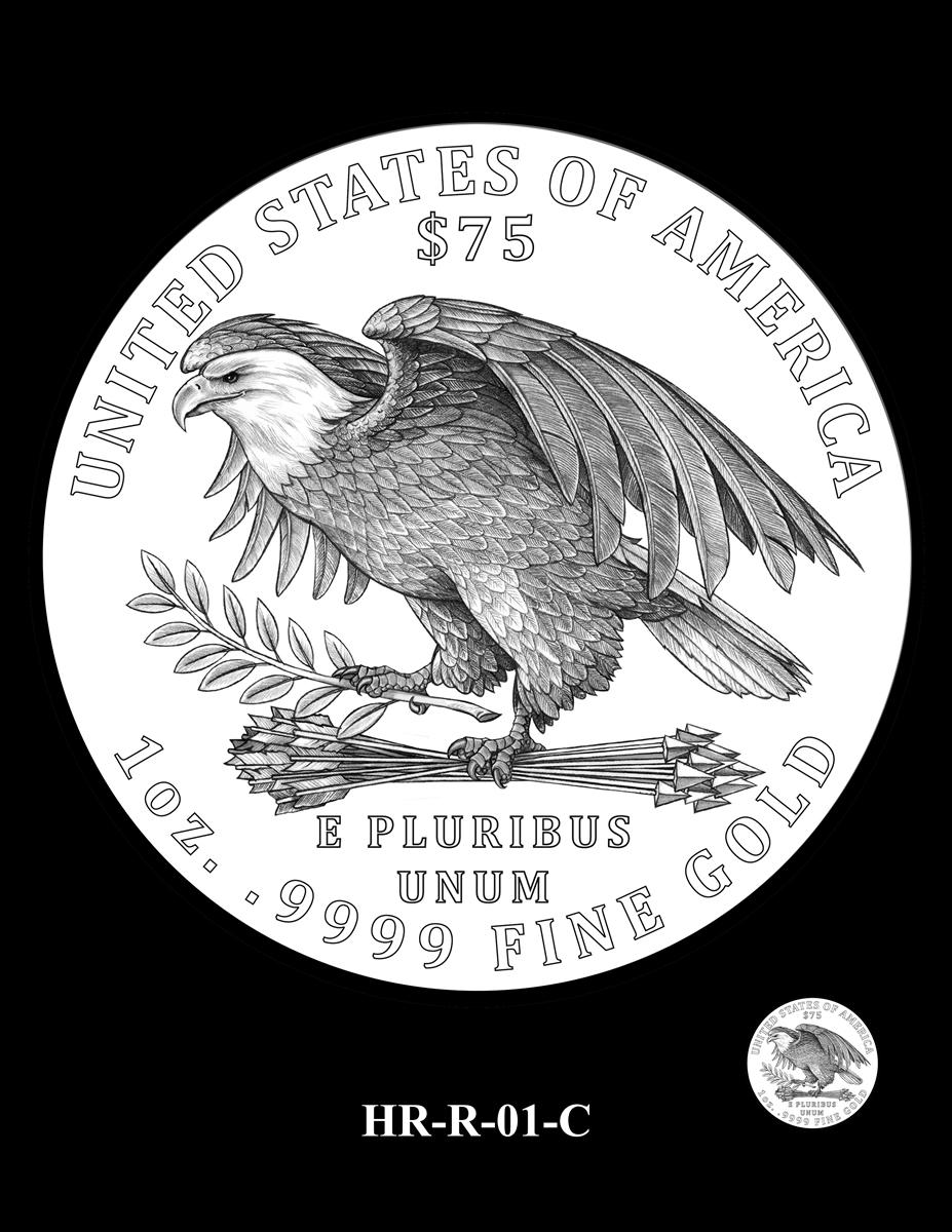 American Liberty Silver Medal Design