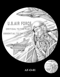 2020 Air Force Medal Candidate Design AF-O-01
