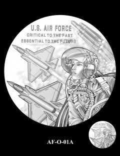 2020 Air Force Medal Candidate Design AF-O-01A