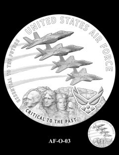 2020 Air Force Medal Candidate Design AF-O-03