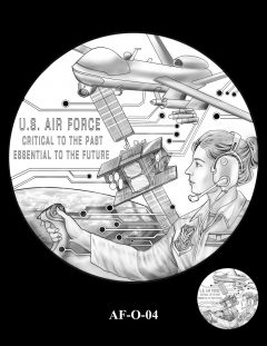 2020 Air Force Medal Candidate Design AF-O-04