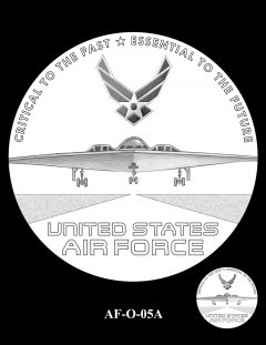 2020 Air Force Medal Candidate Design AF-O-05A