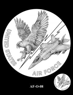 2020 Air Force Medal Candidate Design AF-O-08