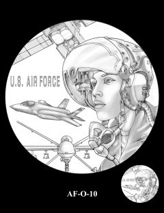 2020 Air Force Medal Candidate Design AF-O-10
