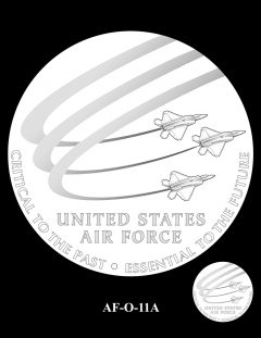 2020 Air Force Medal Candidate Design AF-O-11A