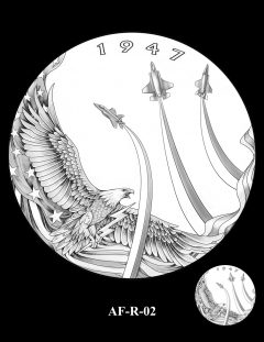 2020 Air Force Medal Candidate Design AF-R-02