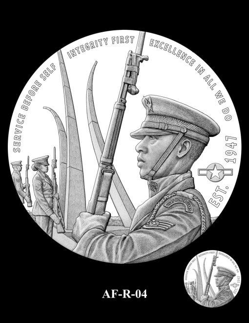 2020 Air Force Medal Candidate Design AF-R-04