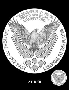 2020 Air Force Medal Candidate Design AF-R-08