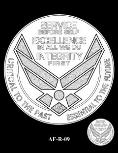 2020 Air Force Medal Candidate Design AF-R-09