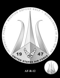 2020 Air Force Medal Candidate Design AF-R-12