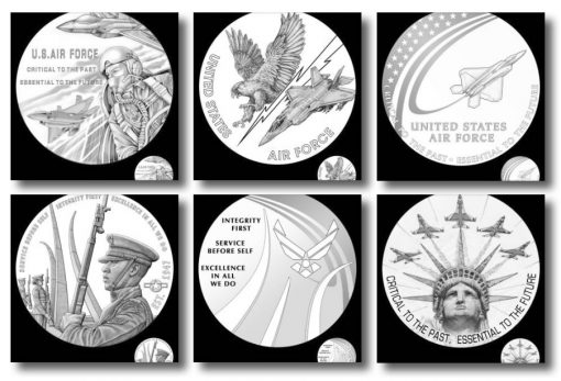 2020 Air Force Medal Candidate Designs