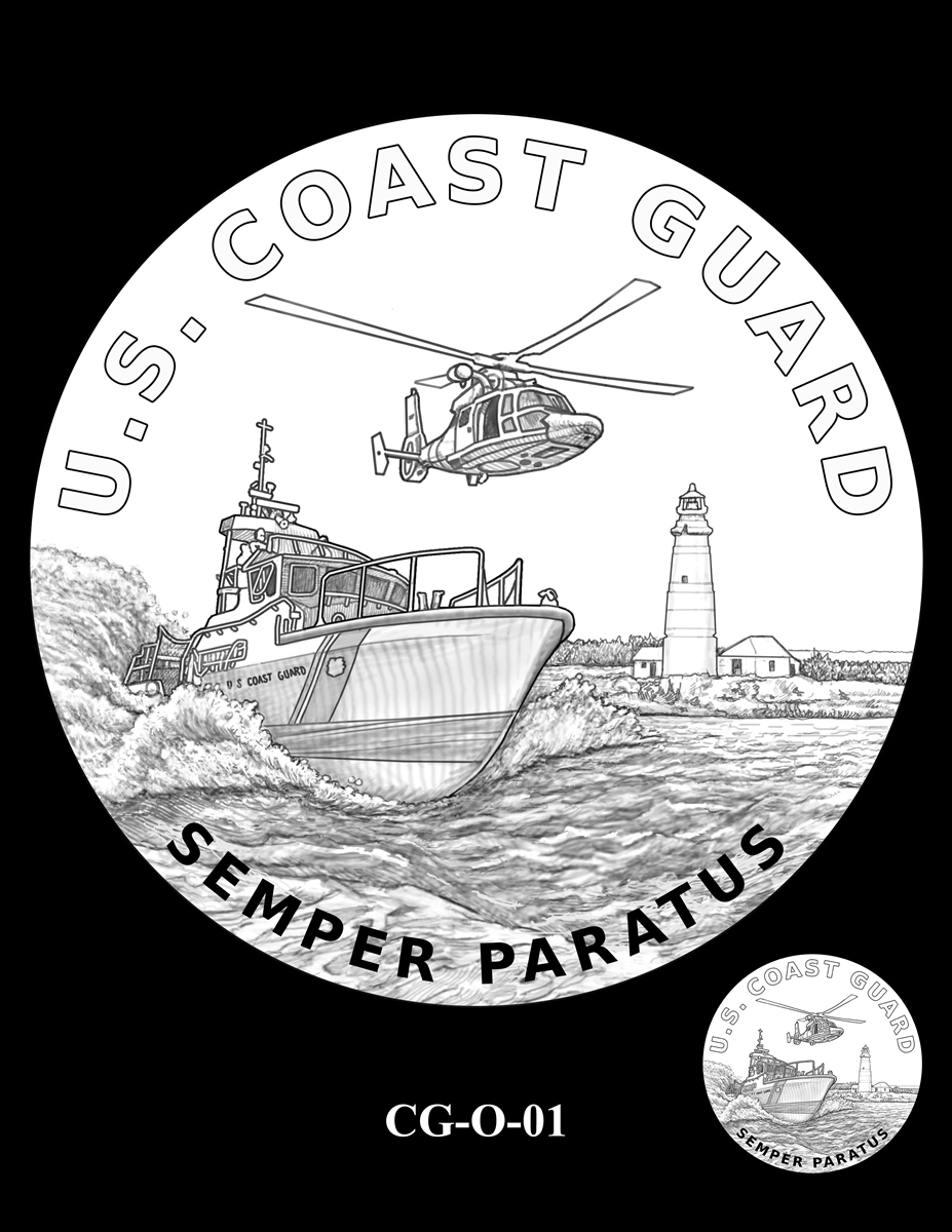 2020 Coast Guard Silver Medal Candidate Designs Coin News
