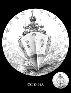 2020 Coast Guard Medal Candidate Design CG-O-04A