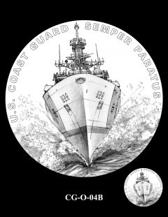 2020 Coast Guard Medal Candidate Design CG-O-04B